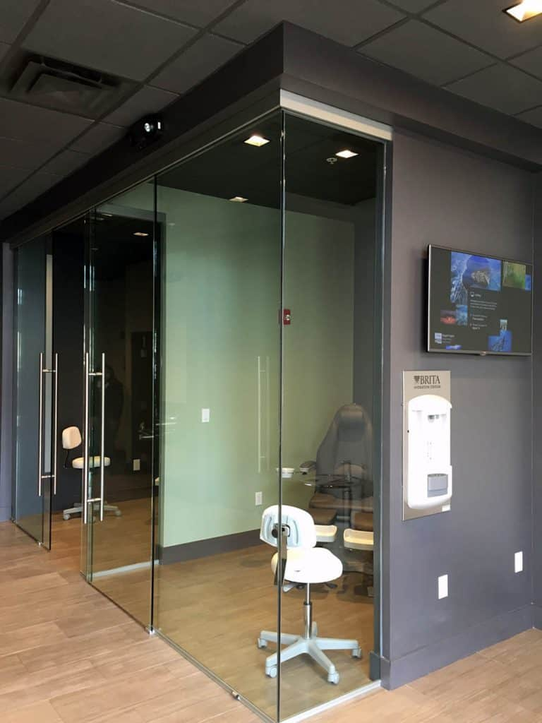 Glass Door Hardware Project Med Spa T Concepts Solutions