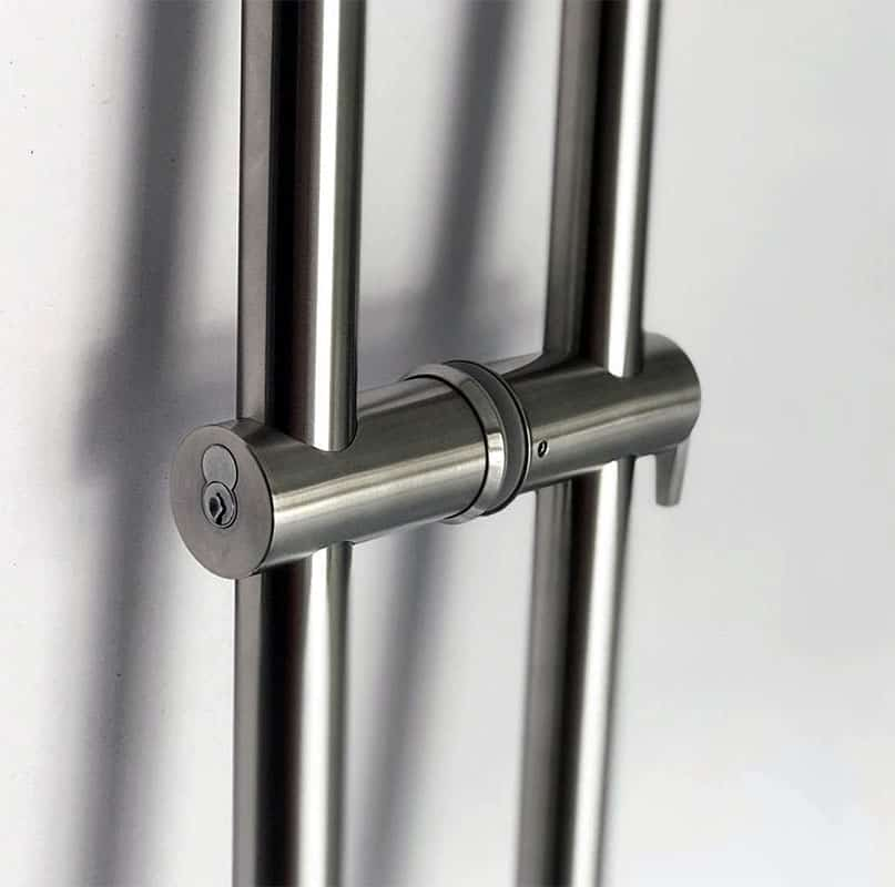 ADA Compliant Architectural Commercial Glass Door Handle or Pull