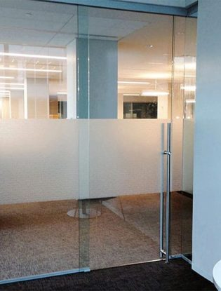 Latching Architectural Commercial Glass Door Handle or Pull
