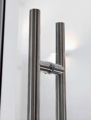 Non Locking Architectural Commercial Glass Door Handle or Pull